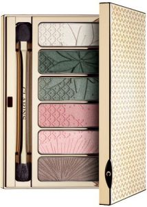 Clarins Spring 2015 limited edition garden escape eyeshadow wet dry palette