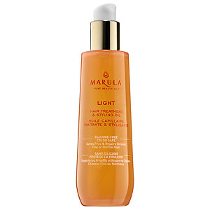 Marula Light Hair Treatment and Styling Oil