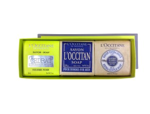 L'Occitane Body Soap Trio