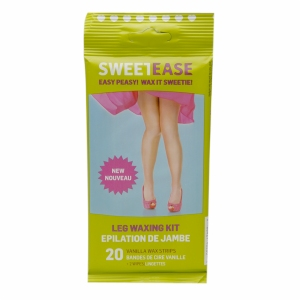 SweetEase Leg Waxing Kit