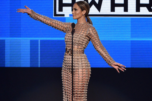 j lo pony tail 2015 amas