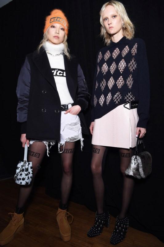 NARS Alexander Wang AW16 Fashion Look