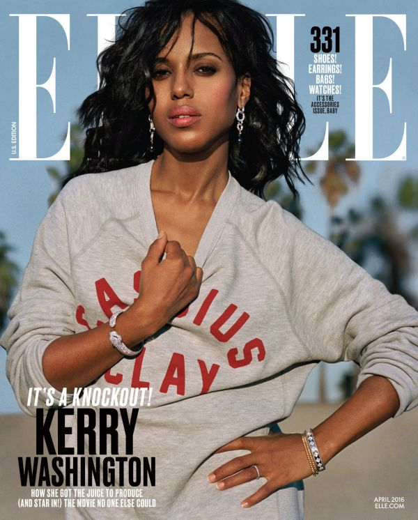 kerry-washington-april 2016 elle cover