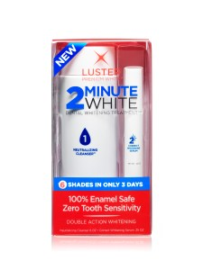 Luster 2 minute white