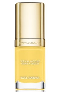 Dolce&Gabbana Beauty Liquid Nail Lacquer in Lemon 705