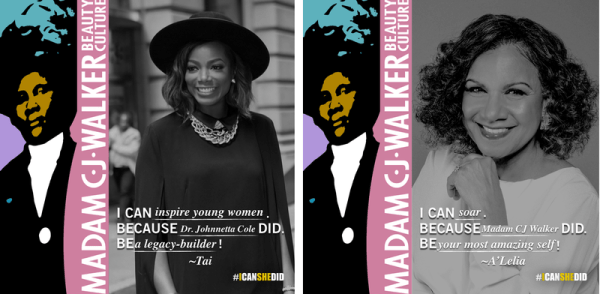 Madam CJ Walker campaign