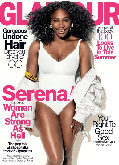 Serena Williams Glamour cover july 2016