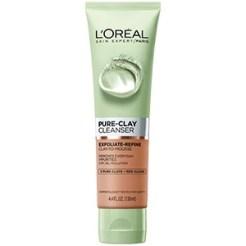 loreal paris PURE-CLAY Exfoliate & Refine Cleanser