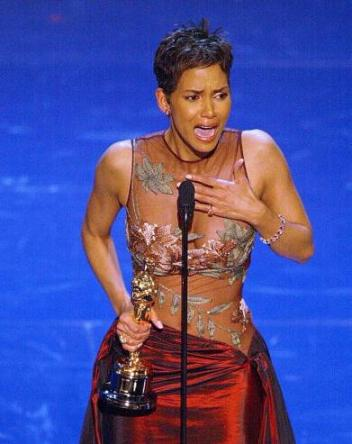 Halle Berry March 24, 2002  Photo by TIMOTHY A. CLARY/AFP/Getty Images