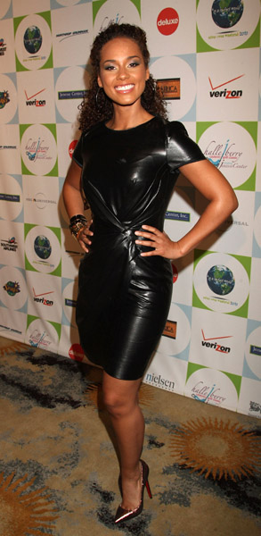 Alicia Keys 2010 Silver Rose gala and auction at the Beverly Hills Hotel on April 18, 2010 in Beverly Hills, California.  Getty Images