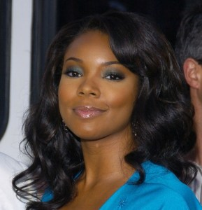 Gabrielle Union with smoldering eyes