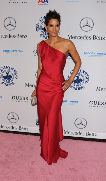 Halle Berry at 32nd Annual Carousel Of Hope Ball October 23, 2010 Getty Images