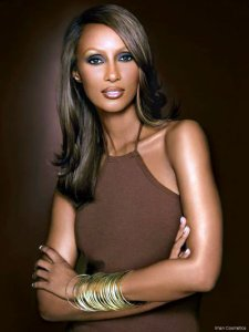 The one and only Iman