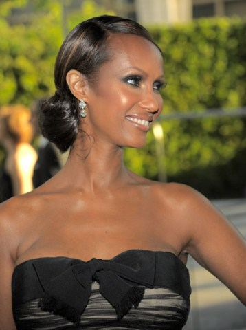 Iman CFDA 2010 Getty Images