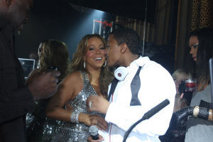 Mariah Carey and Nick Cannon NYE 2009 Getty Images