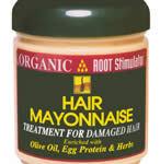 Organic Root Stimulator Olive Oil Hair Mayonnaise
