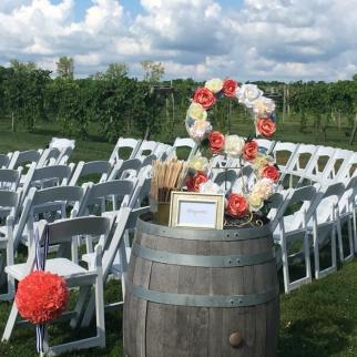 winwery wedding ceremony