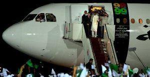 al-negrahi arriving in libya