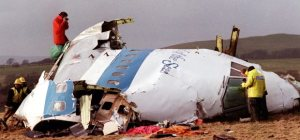 Debris of Pan Am Flight 103