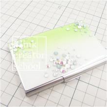 ブリンククリエータースクール名古屋本校のブログ-名刺ケース デコ