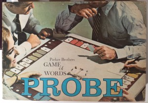 Parker Brothers Probe Game