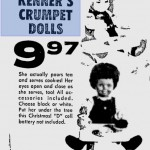 Crumpet by Kenner, ad from November 1971