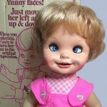 Mattel Saucy Makes Faces Doll