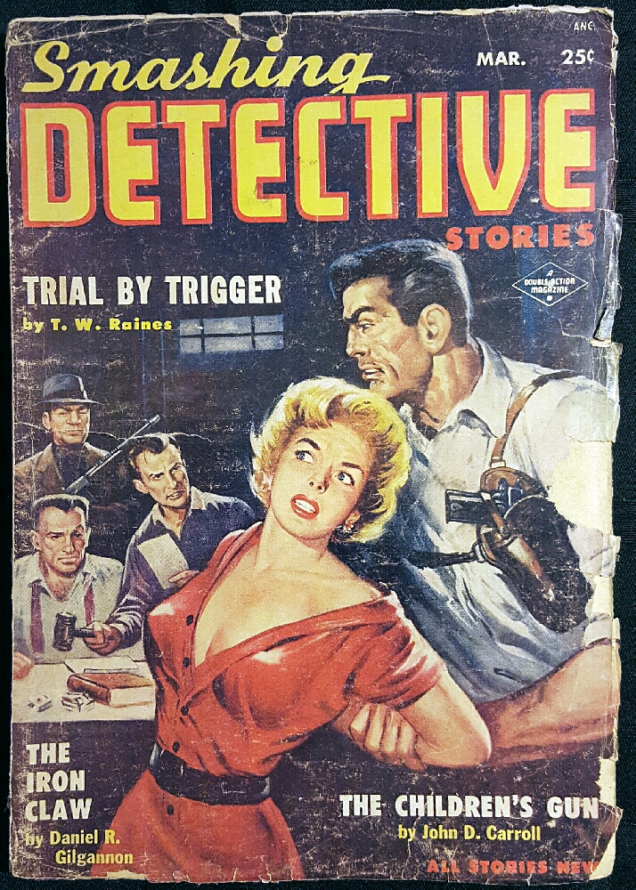 Smashing Detective Stories Magazine, March 1954