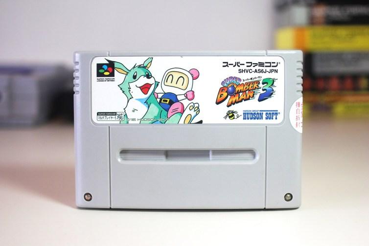 Super Bomberman 3 front