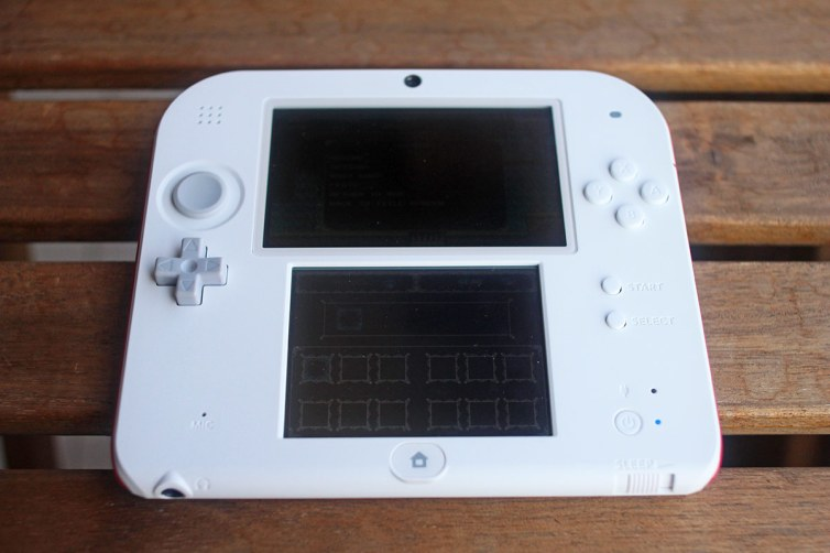 GBA D-pad in a 2DS