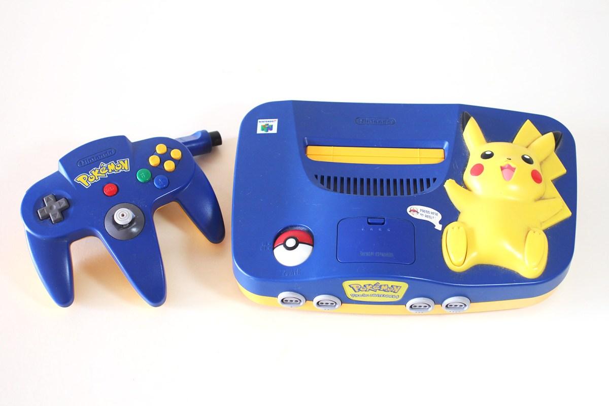 Pikachu N64