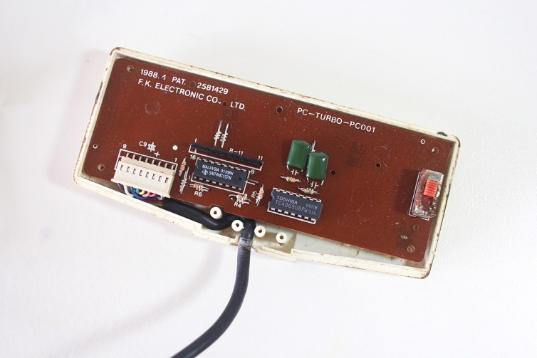 Inside the PC Engine Twin Commander controller