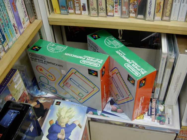 Boxed Super Famicoms