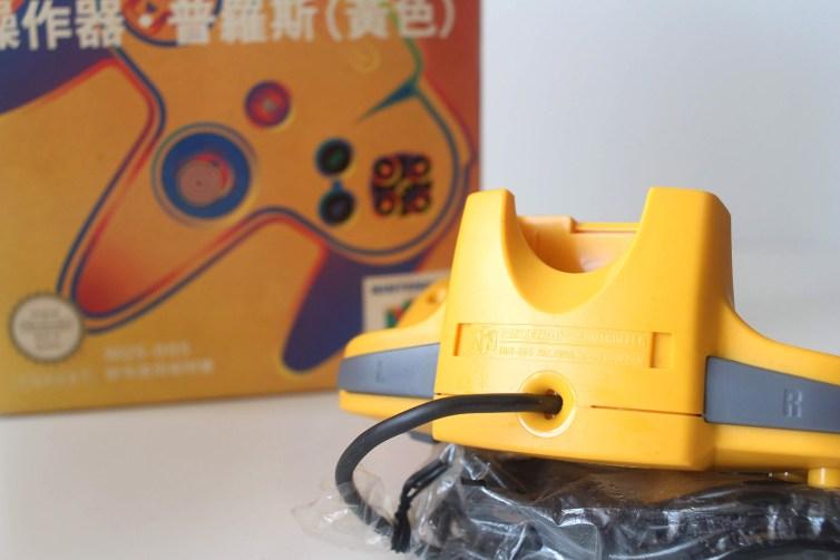 N64 controller top