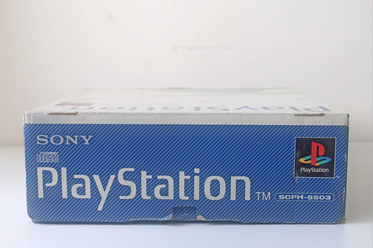 SCPH-5503 Box Top