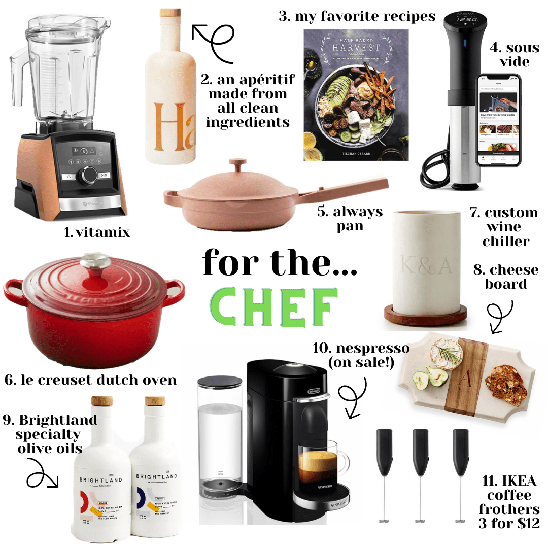 2020 Holiday Gift Guide: Chef