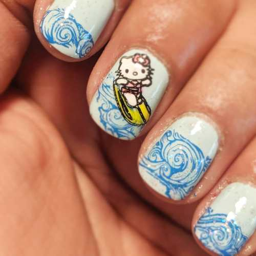 53 Adorable Sanrio Inspired Nail Art Designs You'll ...