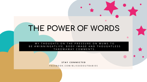 blog the power of words