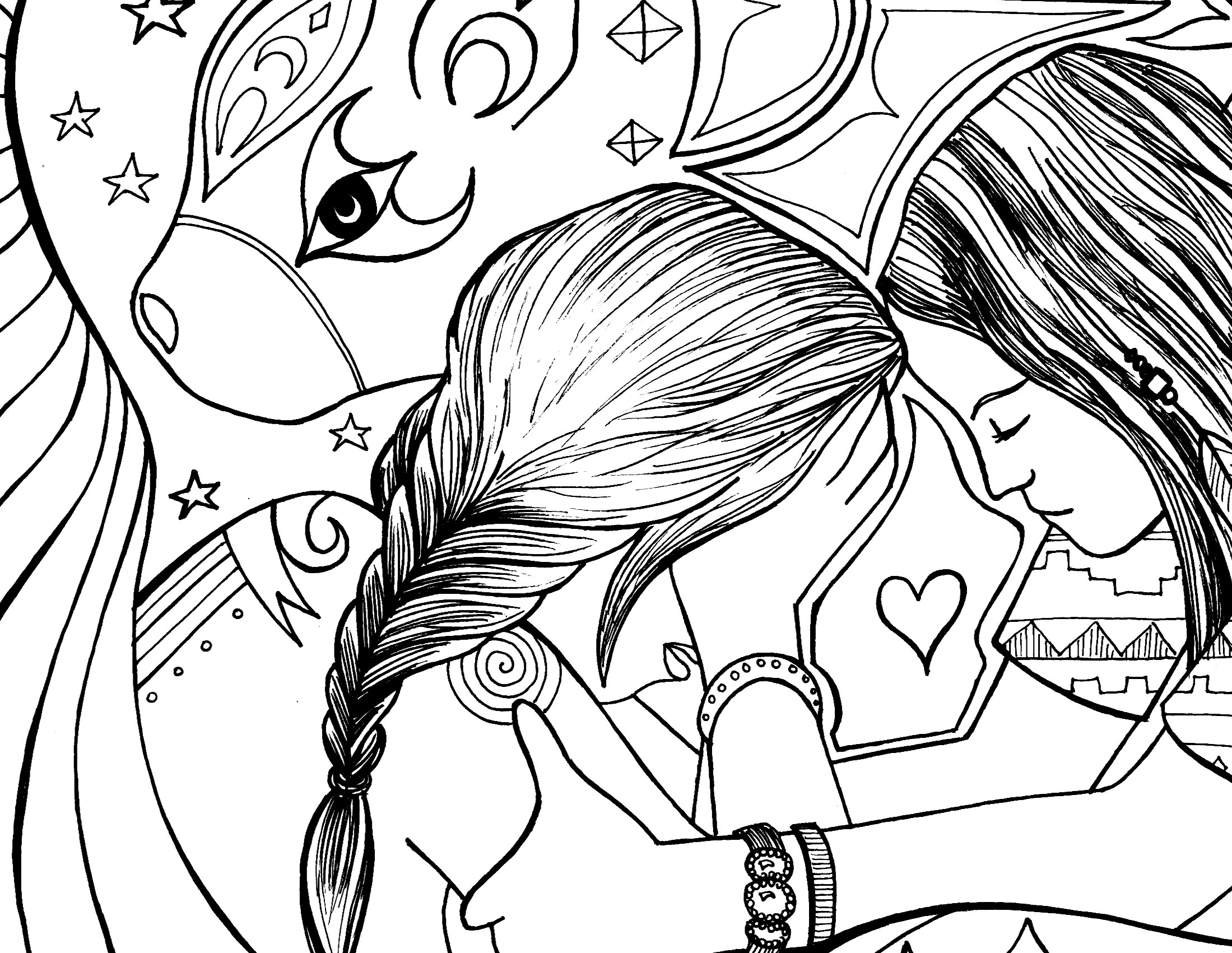 Pregnant Belly Coloring Coloring Pages