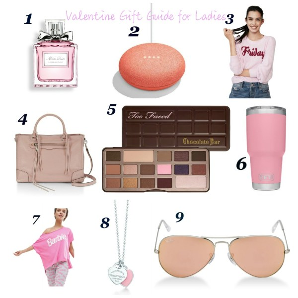 Valentine Gift Guide for Ladies