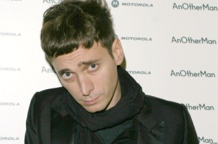 Hedi Slimane at the Portman Square London in Portman Square London, United Kingdom. (Photo by Ferdaus Shamim/WireImage)