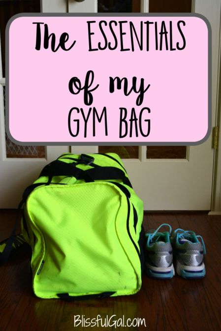 My 9 gym bag essentials || Here's what I include in my gym bag!