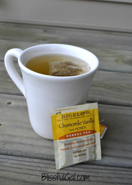 How do you calm down at night? Herbal tea really helps me relax and calm my brain