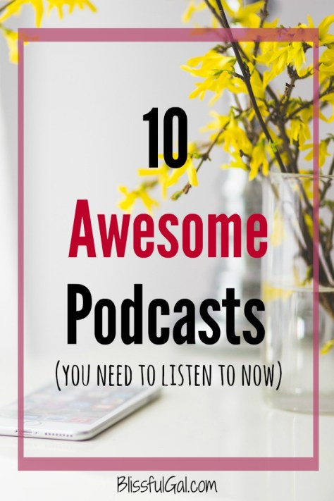 10 Awesome Podcasts | Listening to podcasts helps us easily learn about any topic you can imagine!