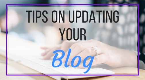 How to Update Your Blog- Making positive changes on your blog every so often is a great way to stay current. You don't need to go extreme and change the entire theme, but these small steps will bring your blog up to the present!