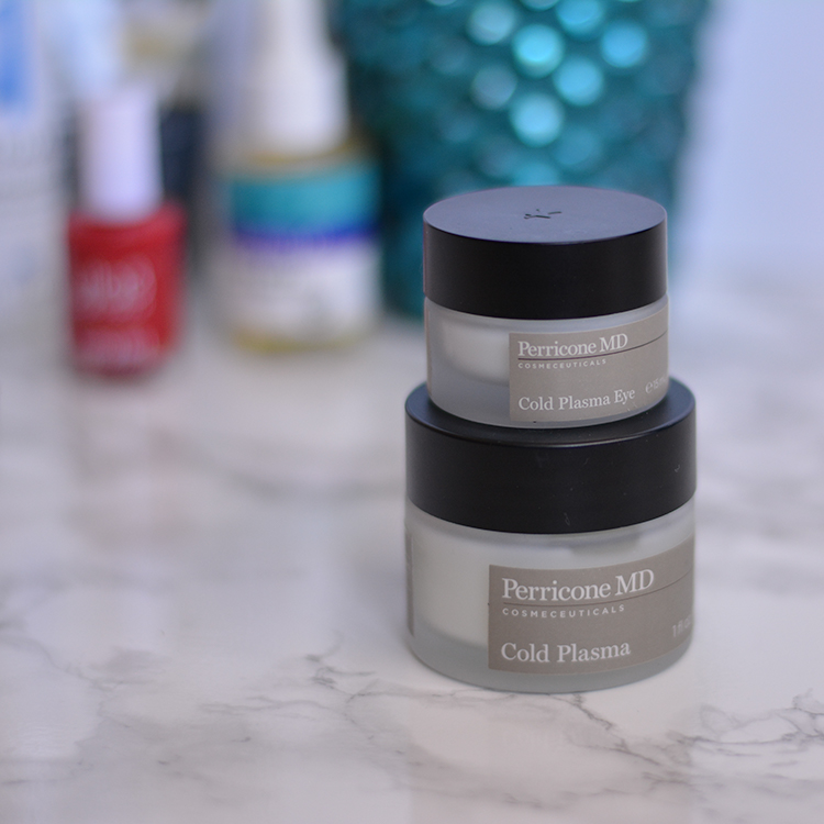 Perricone MD Cold Plasma line review - because skincare is one of my top priorities, I love sharing now products with you guys! This skincare line is sure to make your dry skin look alive again!