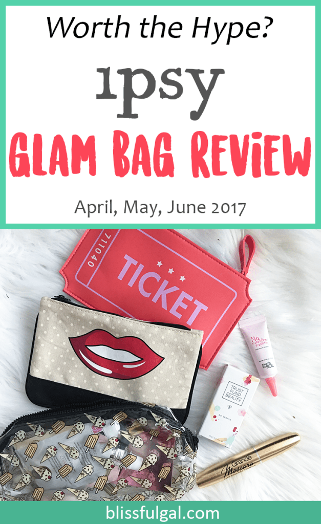 Ipsy glam bag subscription review / subscription box review / what i got in my ipsy glam bag / makeup subscription box / ipsy glam bag products