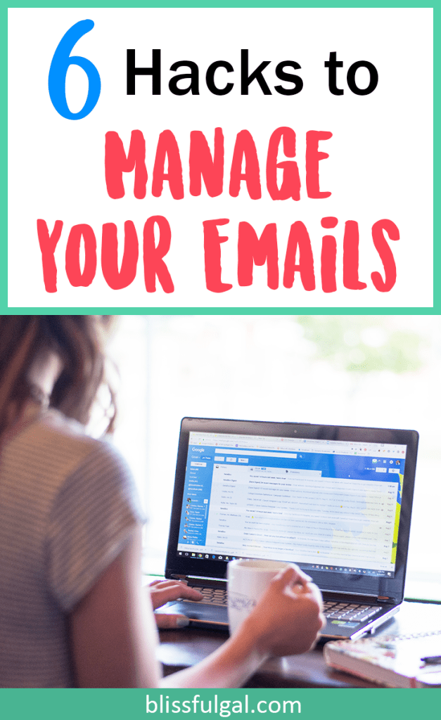 Email organization and management tips and tricks / email hacks / how to organize email / how to manage email / college hacks / sanebox / sanebox review