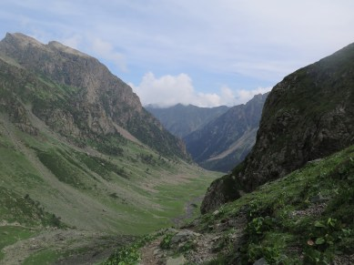 view of the other side from the top of the pass