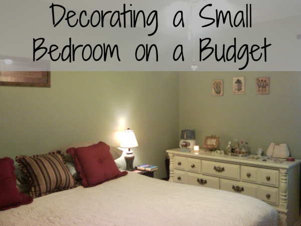 decorating a small bedroom on an even smaller budget | blissfully